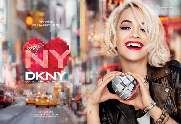 Rita Ora reklamuje nowy zapach od DKNY (VIDEO)