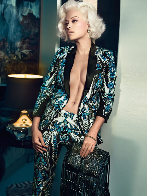 Rita Ora dla Roberto Cavalli! (FOTO+VIDEO)