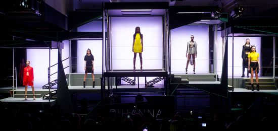 Rihanna zaprezentowała swoją kolekcję na London Fashion Week
