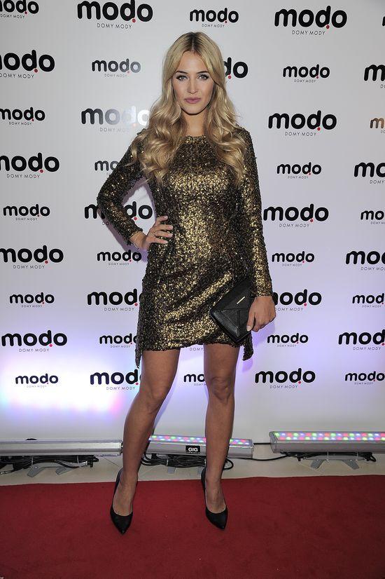Przyszła mama, Rozalia Mancewicz błyszczała na otwarciu Modo