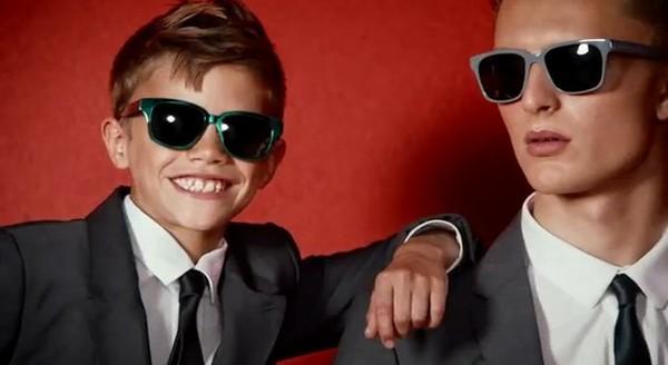 Romeo Beckham to nasz nowy ulubiony model (VIDEO)