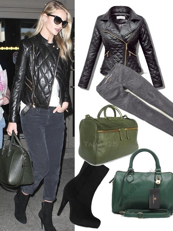 Moda w stylu gwiazd: Rosie Huntington-Whiteley i...