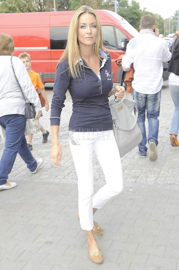 Małgorzata Rozenek w dwóch stylizacjach