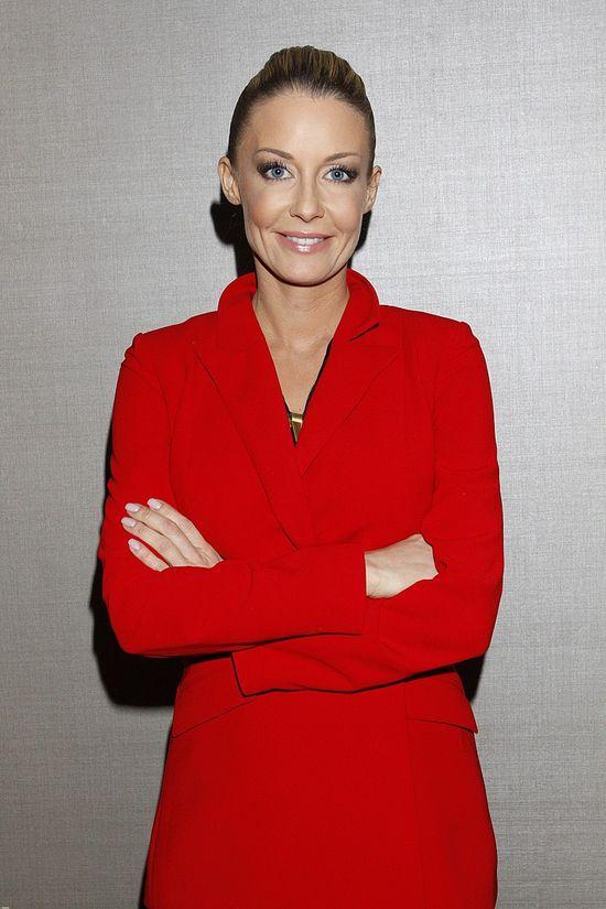Małgorzata Rozenek w czerwonym garniturze (FOTO)