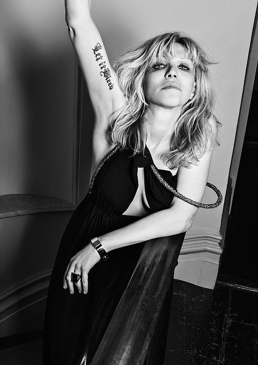 Courtney Love i Marilyn Manson jako modele