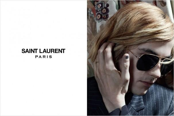 Cara Delevingne twarzą kampanii Saint Laurent jesień 2013
