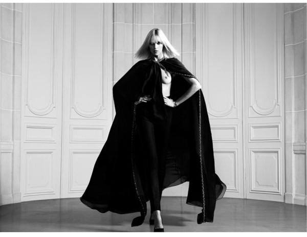 Anja Rubik dla Saint Laurent Paris