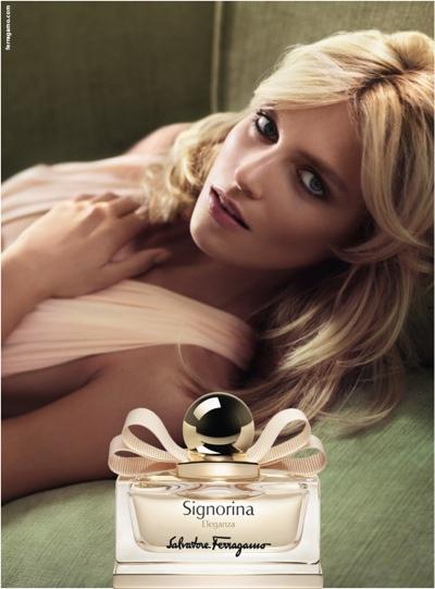 Anja Rubik twarzą nowych perfum Salvatore Ferragamo (FOTO)