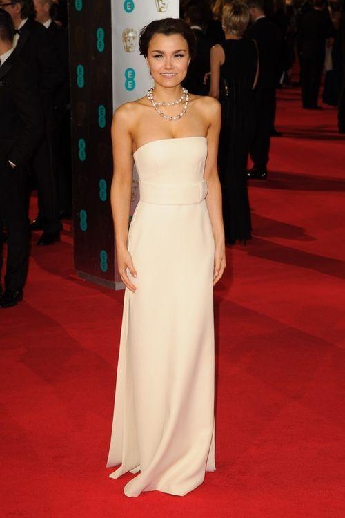 Samantha Barks w sukience marki Calvin Klein (FOTO)