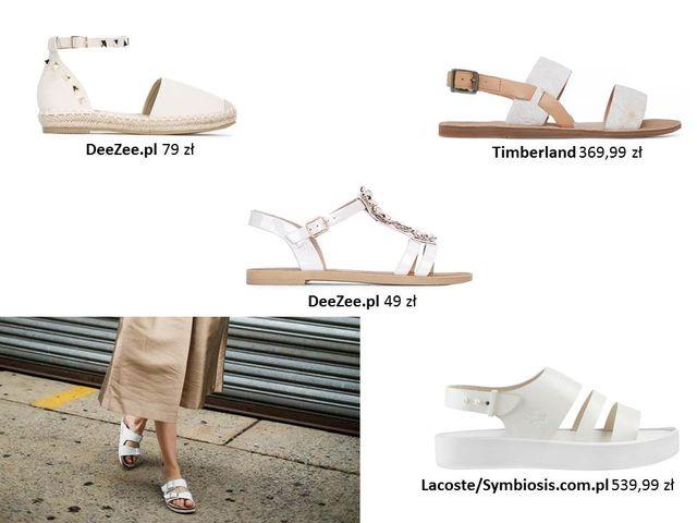 Białe buty - must have na lato 2017 - przegląd (FOTO)