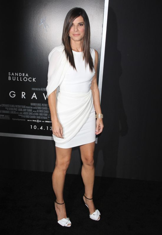 Sandra Bullock w sukience Antonio Berardi