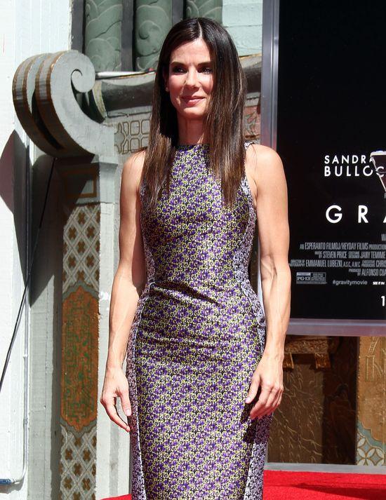 Sandra Bullock w sukience Antonio