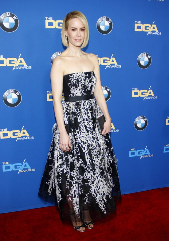 Kreacje gwiazd na gali Directors Guild of America Awards - Sarah Paulson