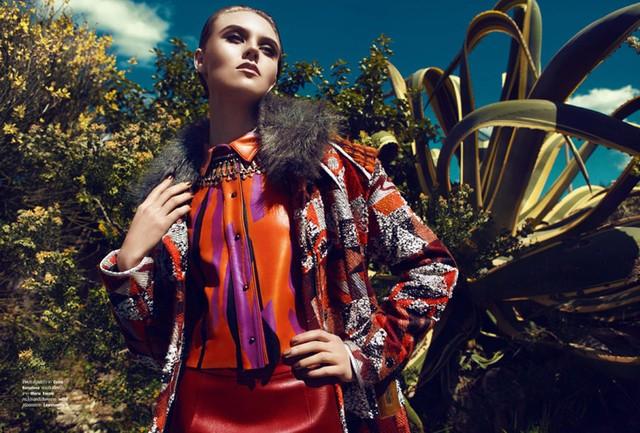 Łukasz Pukowiec dla Harper's Bazaar Thailand