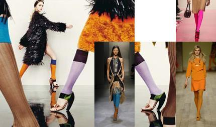 skarpety, legginsy, skarpetki, prada, trendy, wiosna, moda, ubiór
