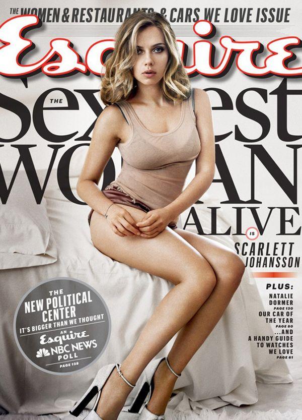 Scarlett Johansson ponownie najseksowniejszą!