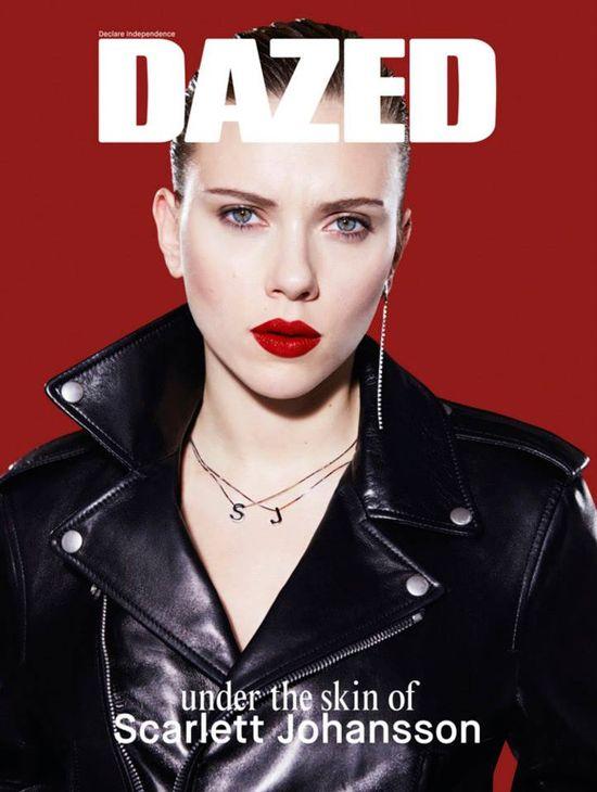Scarlett Johansson gwiazdą podwójnego wydania Dazed (FOTO)