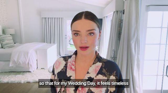 Miranda Kerr samodzielnie wykonała swój ślubny makijaż? (FOTO)