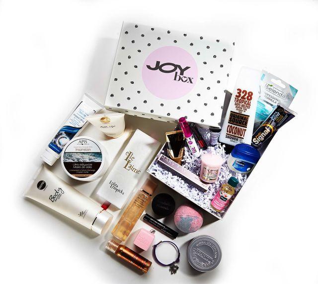 Co powiesz na pudełeczko wypełnione kosmetykami od Joy'a?