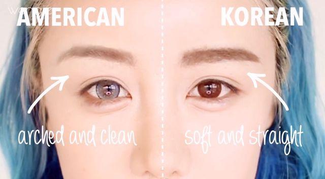 Różnice w makijażu - Ameryka kontra Korea [VIDEO]