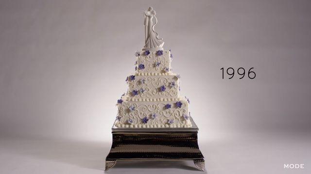 Jak w ciągu 100 lat zmieniały się torty weselne? [VIDEO]