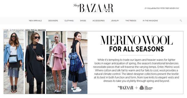Jessica Mercedes doceniona przez amerykański Harper's Baazar