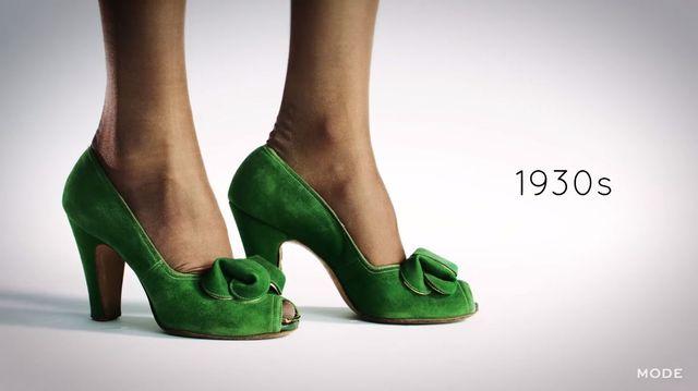 Jak w ciągu 100 lat zmieniały się... buty na obcasie? [VIDEO]