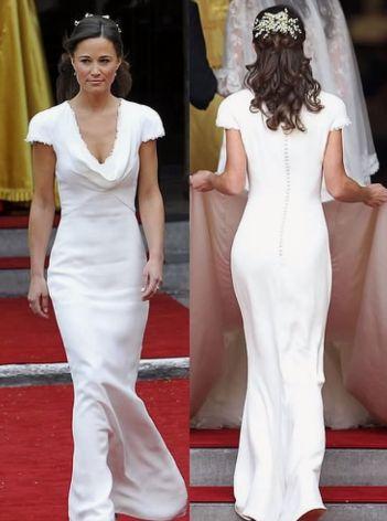 Pippa MIddleton o pupie Kim Kardashian