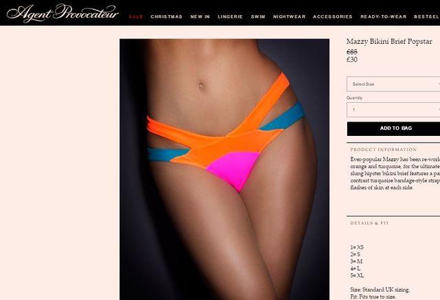 Ulubione bikini gwiazd od Agent Provocateur - możesz je mieć za ułamek ceny!