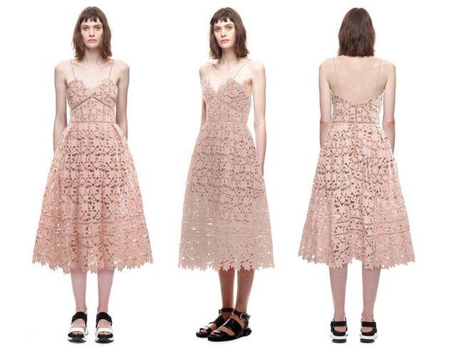 Self-portrait, czyli sukienki, o których marzą wszystkie kobiety