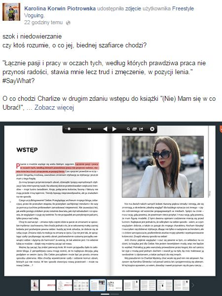 Karolina Korwin-Piotrowska ostro krytykuje Charlize Mystery!