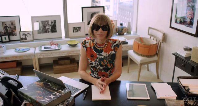 73 pytania do redaktor naczelnej Vogue, Anny Wintour (VIDEO)