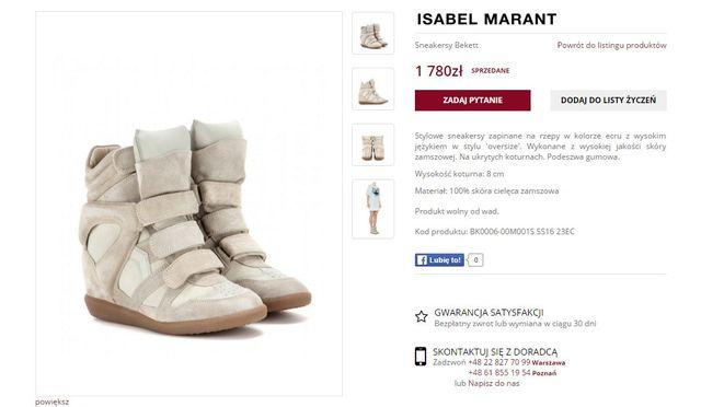 Ulubione buty Anny Lewandowskiej do kupienia w Biedronce?