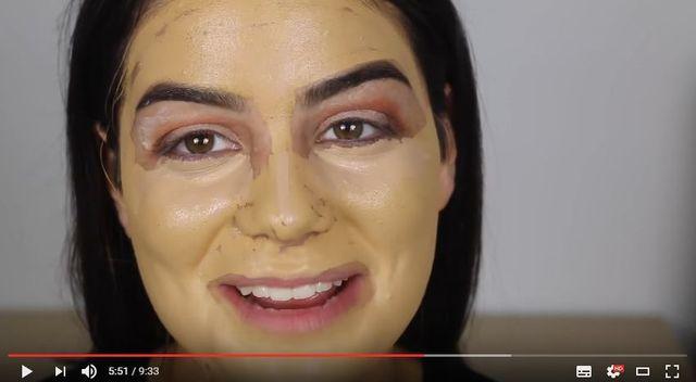 Tak... Właśnie tak wyglądałby makijaż, gdyby... nie można było blendować!