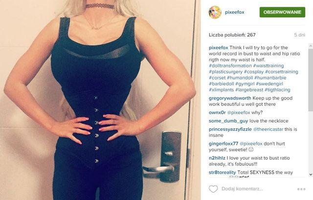 Znacie już Pixee Fox - nową żywą Barbie? (FOTO)