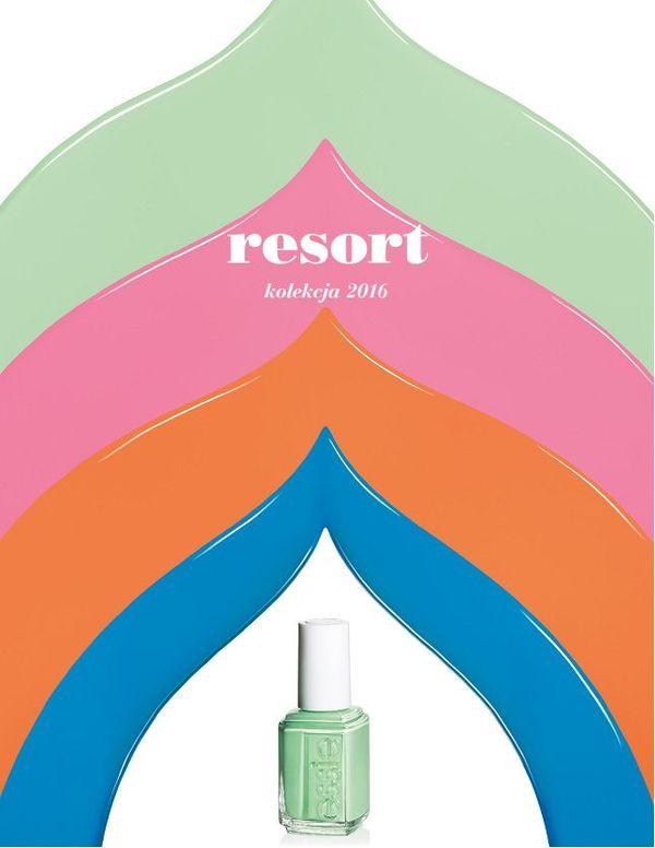 Essie - Resort 2016 - kolekcja lakierów inspirowana Indiami