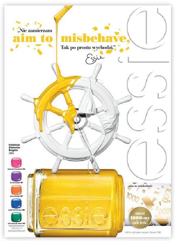 Nowa kolekcja lakierów do paznokci Essie - letni blask 2016 (FOTO)