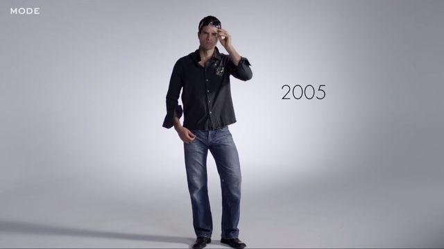 100 lat męskiej mody w 3 minuty - jak zmieniał się styl?