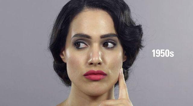 100 lat piękna w minutę - jak zmieniały się irańskie kobiety