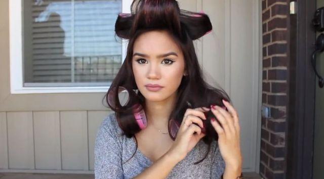 Fryzura dla miłośniczek stylu aniołków Victoria's Secret
