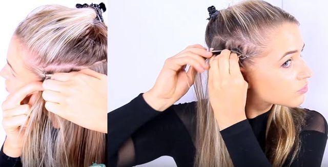 Fryzura z warkoczami w stylu Kim Kardashian [VIDEO]