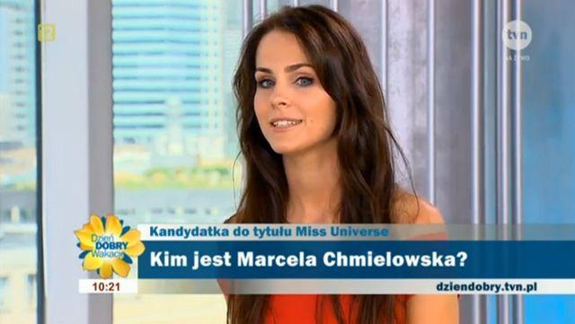 Marcela Chmielowska - polska kandydatka na Miss Universe!