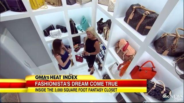 Garderoba tej kobiety kosztowała dwa i pół miliona dolarów!