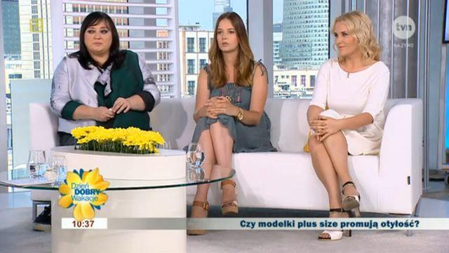 Co Gosia Baczyńska myśli o modelkach plus size?