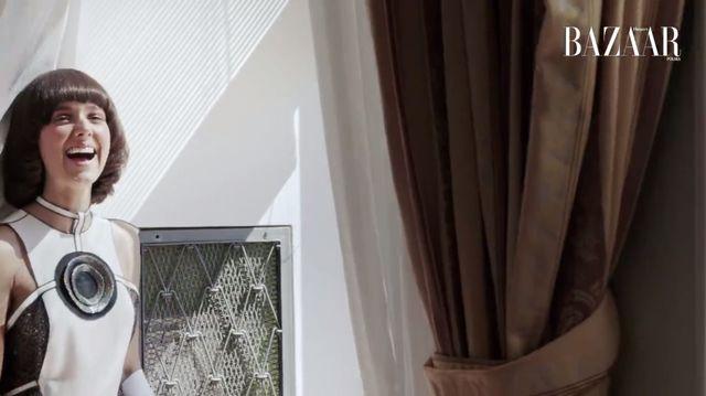 Zobaczcie kulisy sesji zdjęciowej pięknej Moniki Brodki dla Harper's Baazar