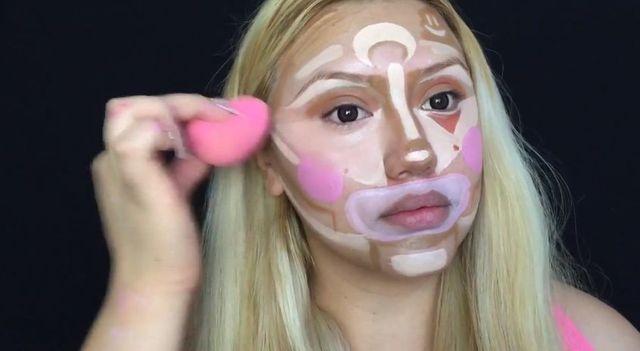 Konturowanie twarzy - technika na... Clowna? Tak! [VIDEO]