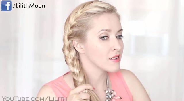 Warkocz w stylu Elsy z Krainy Lodu - 3 fryzury [VIDEO]