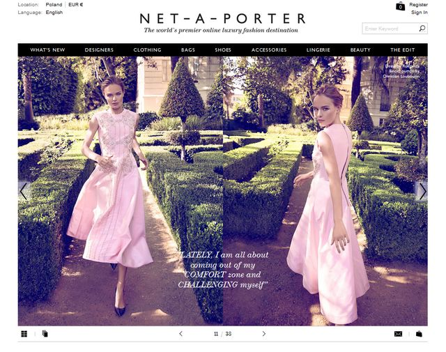 Kate Bosworth dla The Edit (FOTO)