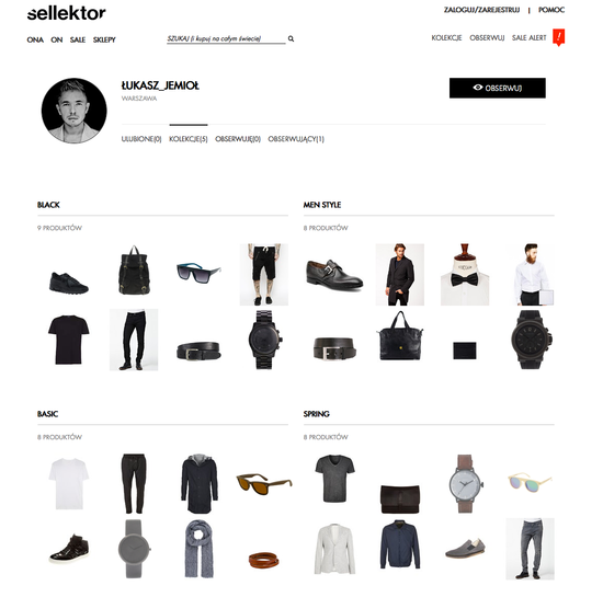 Sellektor – nowa platforma mody online