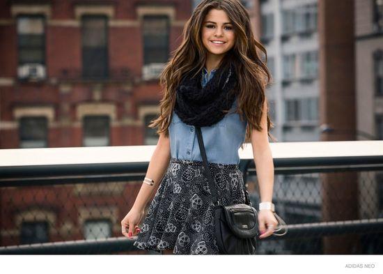 Selena Gomez ponownie dla Adidas Neo (FOTO)
